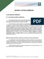 Lectura 3. Hechos y Actos Juridicos