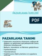20090129  PAZARLAMA İLKELERİ