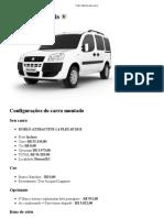 Carro Fiat Dooblo