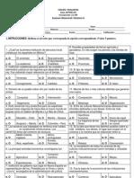 Examen Bimestral I Historia II Octubre (2012 - 2013)