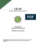 Public Review Document