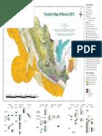Tectonic Map Mexico 2013 Final V