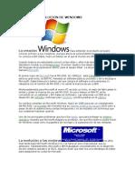 Historia y Evolucion de Windows (1)