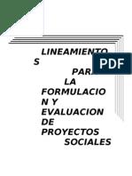 LineamientosparalaFyEdeProyectosSociales