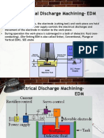 Electrical Discharge Machining- EDM