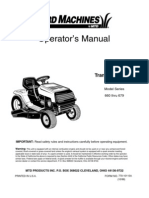 Yard Machines Lawn Tractor Owners Manual