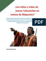 Murieron miles y miles de mis hermanos Tehuelches en manos de Mapuches.docx