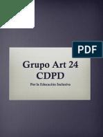 GRUPO ART 24 DECLARACIÓN DE PRINCIPIOS