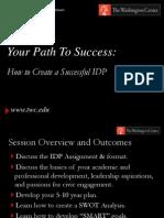 IDP Workshop - Summer 2013 (Student Version)