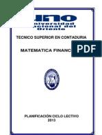 Matematica Fin