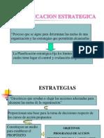 Definiciones Conceptuales de Planificacion Estrategica.pps