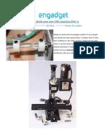 CNC Machine (Part 1)