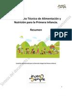 4.de Alimentacion y Nutricion Para La Primera Infancia Resumen
