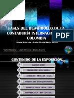 FASES DEL DESARROLLO DE LA CONTADURÍA INTERNACIONAL EN COLOMBIA