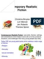 Contemporary Realistic Fiction Ppt