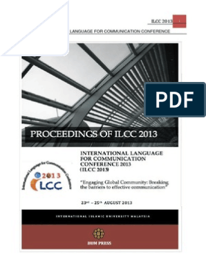 ILCC 2013 Proceedings Speech Synthesis