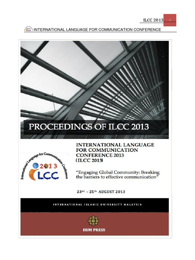 Ilcc 2013 Proceedings Speech Synthesis Foreign Language