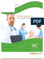 HIPAA Compliance and the Transfer of Information