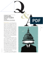 Legal Matters With Munger