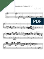 Brandenburg Concerto No 5