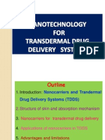 Nanocarriers for Transdermal Drug Delivery