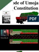 the Code of Umoja Black Constitution