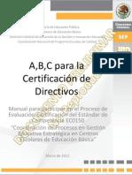 Manual de la Certificación
