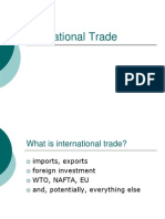 6. WTO Frame Work and International Marketing