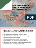 Tamadun Cina Dalam Pemantapan Tamadun Malaysia Dan Dunia (2)