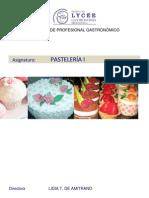 6 - PASTELERÍA
