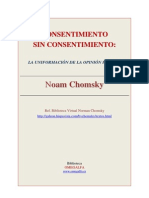 Consentimiento sin consentimiento - La uniformación de la opinión pública