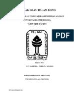 Akhlak Islam Dalam Bisnis