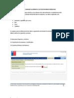 Requerimientos Para Cargar Alumnos a La Plataforma Webclass