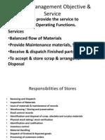 Stores Management Presentation