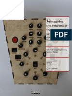 Report Bachelors Assignment Arvid Jense Meeblip Synthesizer