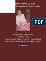 Brij Ratan Parakh or Baba - Biography of an Unknown Indian