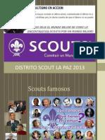 Invitacion Scout Dirgentes