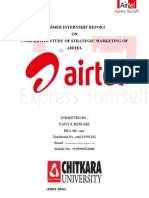 57085199 Project Report on Airtel