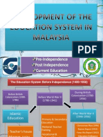 Development In Malaysia education