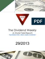 Dividend Weekly 29_2013