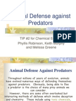 Animal Defense vs Predators