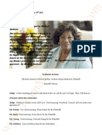 Jackson V AEG Live, July 19th 2013, Transcripts of Katherine Jackson
