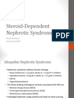 Steroid-Dependent Nephrotic Syndrome