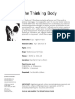 The Thinking Body SPG