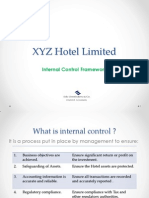 Internal Control Presentation for a Hotel Organization