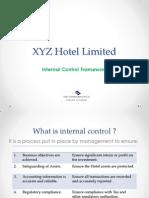 Internal Control Presentation for a Hotel Organization