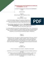 ESTATUTOS DA ASSOCIAÇÃO DAS COLECTIVIDADES DO CONCELHO DO BARREIRO