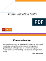 Communication Skills & Relationship Building