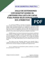 CUADERNOS DE GEOMÁTICA KOSMO EXTENSIONES III