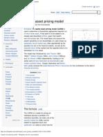 Capital Asset Pricing Model  iii